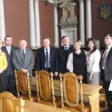 Візит представників Інституту економіки Університету Марії Кюрі-Склодовської в Любліні