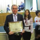 Вітаємо Любомира Пилипенка із отриманням премії Львівської обласної ради та Львівської облдержадміністрації!