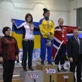 Вітаємо Оробець Юлію, ст. гр. ОА-44 із здобуттям 2-гого місця на Чемпіонаті Європи з пауерліфтингу!