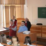 Лекція для студентів кафедри обліку та аналізу від професіоналів з США