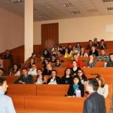 Лекції керівників компаній та банків США для студентів кафедри обліку та аналізу