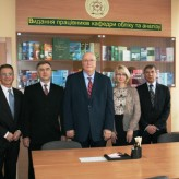 Кафедра обліку та аналізу налагоджує тіснішу співпрацю з навчальним закладом із США