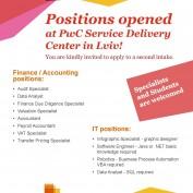 Компанія PWC запрошує на роботу!