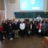 Зустріч студентів та викладачів кафедри із представниками  бізнесу США
