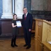 Ректор Політехніки привітав студентів-обліковців із перемогами